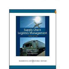 Supply Chain Logistics Management by Bowersox, 3rd 9780073377872