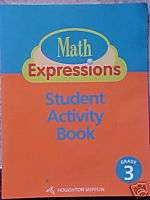 Houghton Mifflin Math Gr 3 Student Activity Book