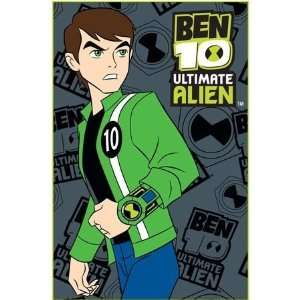 Kids Boys Ben 10 Ultimate Alien Bedroom Floor Rug/Mat