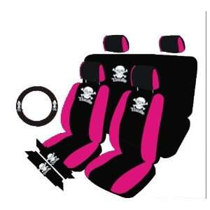 UNIVERSAL CAR SEAT COVERS FOR LOWBACKBACK BUCKET UNIVERSAL