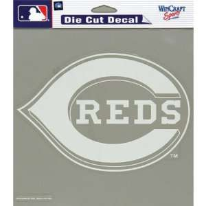 Cincinnati Reds   Logo Cut Out Decal MLB Pro Baseball Automotive