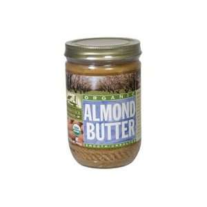 Woodstock Farms Almond, Creamy, No Salt, 16 Ounce (Pack of