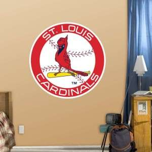 St. Louis Cardinals Logo MLB Fathead Wall Graphic, NEW