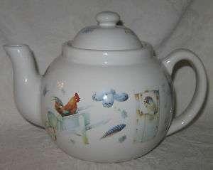Marjolein Bastin Natures Sketchbook Blue Skies Teapot