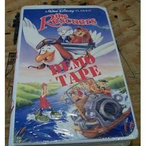 The Rescuers [VHS] John Lounsbery, Wolfgang Reitherman