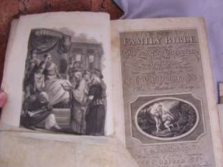 HOLY BIBLE OLD AND NEW TESTAMENTS Large Folio 1816