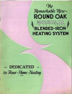Beckwith Company   Round Oak Stove & Furnace Brochure