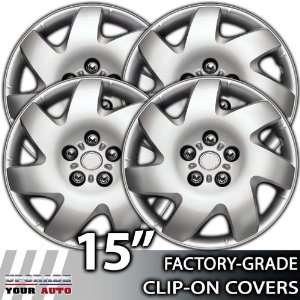 2002 2006 Toyota Camry 15 Inch Silver Metallic Clip On