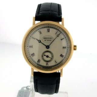 Breguet Marine Mid Size 18k Yellow Gold 36mm watch.