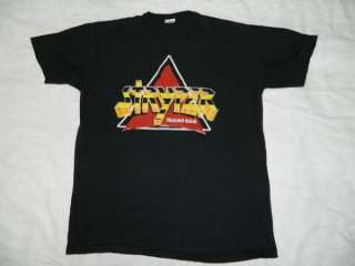 VTG STRYPER 777 TO HELL WITH THE DEVIL 1986 TOUR T SHIRT XL 80S