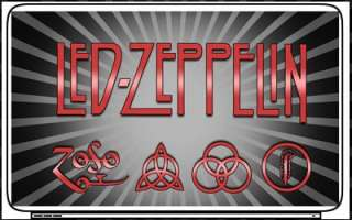 Led Zeppelin Laptop Netbook Skin Decal Cover Sticker