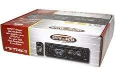 Nitro BMW4673A Car Stereo CD//USB/SD/Radio Receiver w/ Aux Input