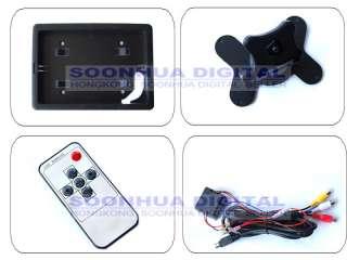 TFT LCD DVD VCR Car Reverse Camera Headrest Monitor