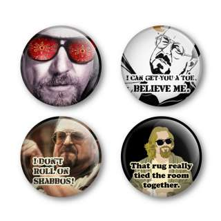 The Big Lebowski Badges Buttons Pins Shirts DVD