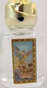 St Michael Patron Saint Holy Water Bottle Protection