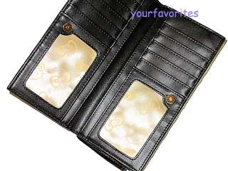 Hello Kitty black card holder wallet purse