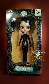 Catwoman Pullip Black hair Comic Con Exclusive 2011 Doll DC Comics