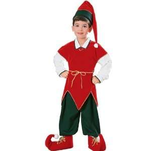 Velvet Elf Child Costume   Small   Kids Costumes Toys & Games