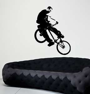 Giant BMX Bike Bicycle Wall Decor Vinyl Decal Sticker
