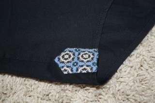Bogosse ARAMIS Black Long Sleeve Shirt Mens 5 XL