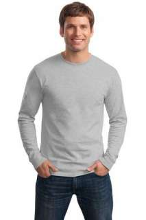 Hanes   Tagless 100% Cotton Long Sleeve T Shirt. 5586