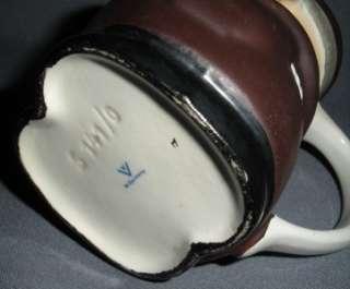 GOEBEL WEST GERMANY FRIAR TUCK BROWN MONK CREAMER S141/0 VINTAGE 1950S