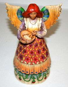 Enesco Jim Shore Bountiful Angel 117675 Figure 2004