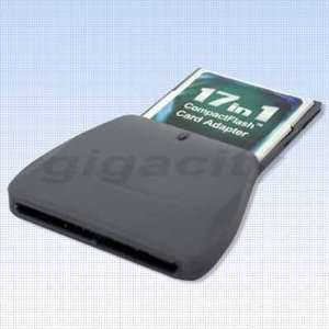 SD/SDHC/MMC/MS to Compact Flash CF Card Type I/II Adapter