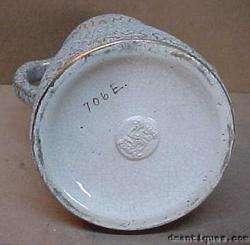 Antique 1908 SWASTIKA KERAMOS Art Pottery Coraline Vase