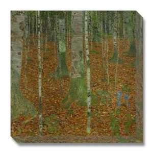 Buchenwald (Beech Trees), 1903 by Gustav Klimt, 18x18