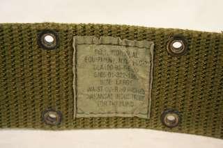 US MILITARY Suspenders / USMC Pistol Belt / Keepers SET