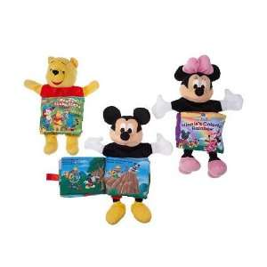 Set of 3 (Mickey & Minnie Mouse & Winnie The Pooh) Toys & Games