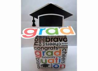 Congrats Grad GRADUATION PARTY Class 2012 Money gift CARD Box