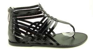 GUESS MARCIANO SUCCEED Black Womens Shoes Sandals 8.5