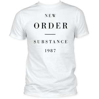 New Order Substance 1987 T shirt top tee Joy Division