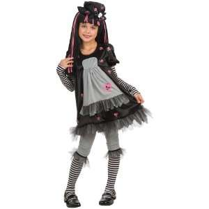 Doll Ista Gothic Kids Costume Toys & Games