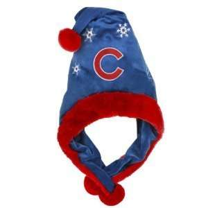 Chicago Cubs MLB Official Team logo stadium Dangle Santa Hat *NEW ITEM