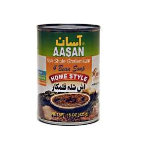 AASAN 4 Bean Soup (Ash Shole Ghalamkaar) 15 oz   Pack of 6: