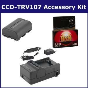 Sony CCD TRV107 Camcorder Accessory Kit includes HI8TAPE Tape/ Media