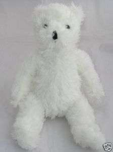 Goffa Intl Dave And Busters Plush White TEDDY BEAR 14