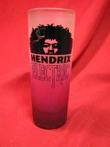 JIMI HENDRIX ELECTRIC VODKA SHOT GLASS