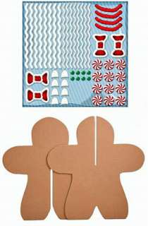 Kids KRAFT IT KIT ~ 3D GINGERBREAD MAN