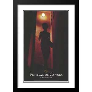 Cannes Film Festival 32x45 Framed and Double Matted Movie