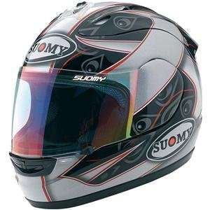 Suomy Spec 1R Extreme Double Gray Helmet   Small/Grey