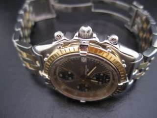 BREITLING CHRONOMAT 18K/SS TWO TONE STAINLESS STEEL WATCH MENS