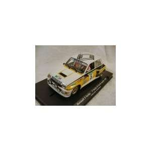 GB   Renault 5 Turbo Rally El Corte Ingles 1985 y/blk/wh #5 Slot Car