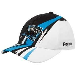 Reebok Carolina Panthers Youth Black White Cut & Sew