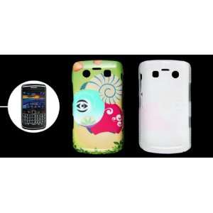 Gino Colorful Cartoon Sheep Printed Plastic Cover for Blackberry 9700