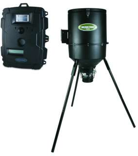 D50 Flash Digital Trail Game Camera + 30Gal Tripod Deer Feeder