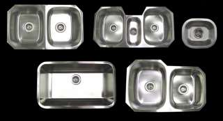 Stainless Steel Undermount Island Kitchen Bar Sink